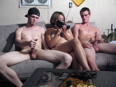 Free gay white trash porn
