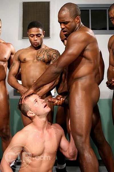 Black gay jail porn