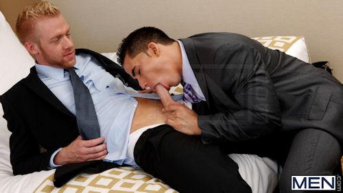 Gay porn in office