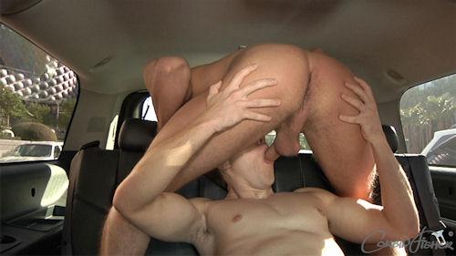 sex inside a car