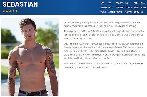 Σεμπάστιαν νέος γκέι πορνό σέξι σύριγγες μουνί