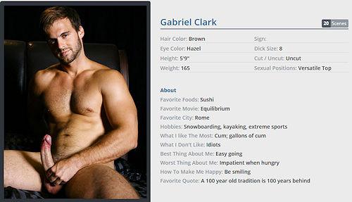 Gabriel Clark Free Porn